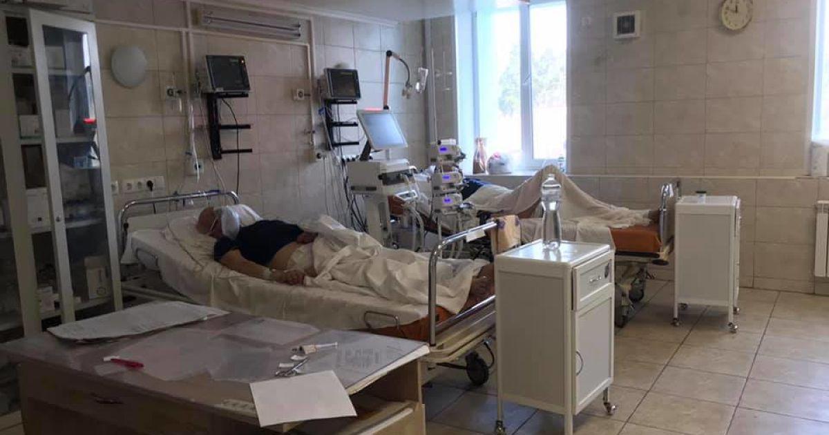 """В Киевской больнице №1 открещиваются от ужасов в """"ковидном"""" отделении"""