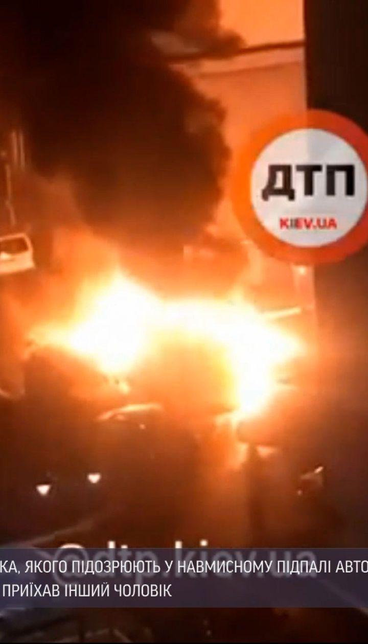 Новости Украины: в Киевской области задержали мужчину, который устроил масштабный пожар на парковке из-за ревности