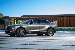 Запас ходу в 500 км та оригінальний дизайн: Cadillac офіційно презентував свій перший в історії електромобіль
