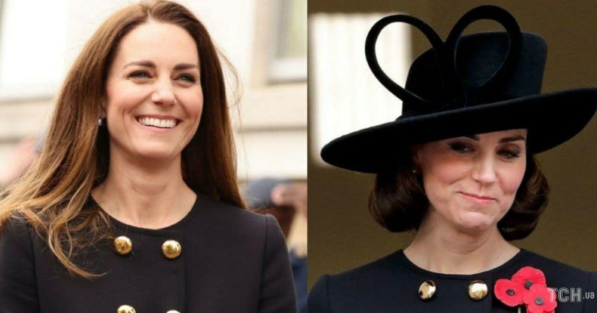 Два образа в одном пальто: герцогиня Кембриджская повторила аутфит