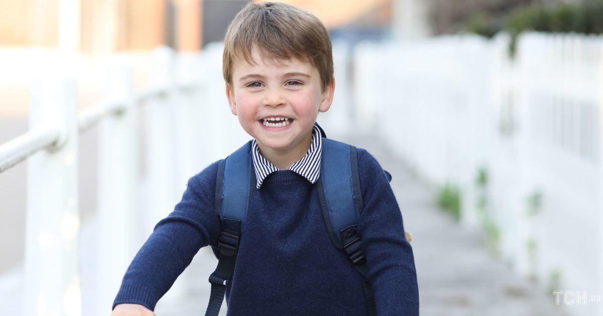 Іменинник дня: Кембриджі поділилися портретним фото молодшого сина принца Луї