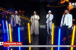"""Финалисты """"Голоса страны-11"""" исполнили легендарную песню """"Україна"""" в """"Сніданку"""""""