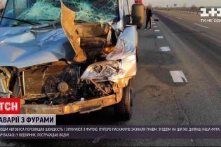 Новости Украины: в Одесской области произошло две аварии с контейнеровозами - шесть человек травмированы