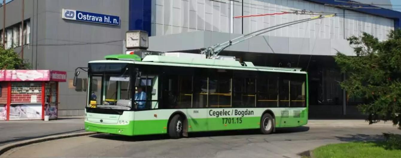 Украинский автопроизводитель будет поставлять новые троллейбусы в одну из европейских стран