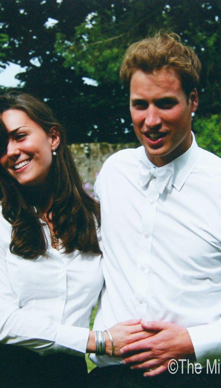 Кейт Миддлтон и принц Уильям в Сэнт-Эндрюсском университете