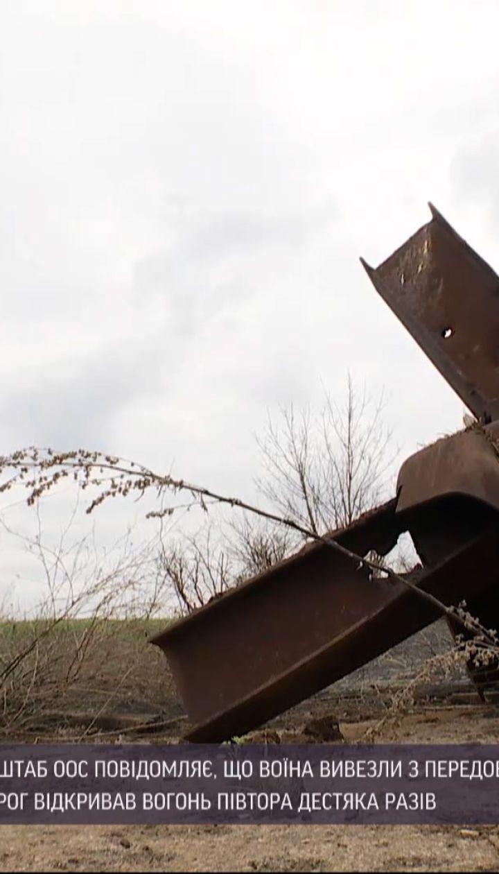 Новини з фронту: штаб ООС повідомив про одного пораненого бійця на Донбасі