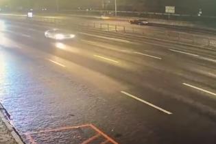 З'явилося відео переслідування водія Infinity, який влаштував смертельну ДТП на Печерську