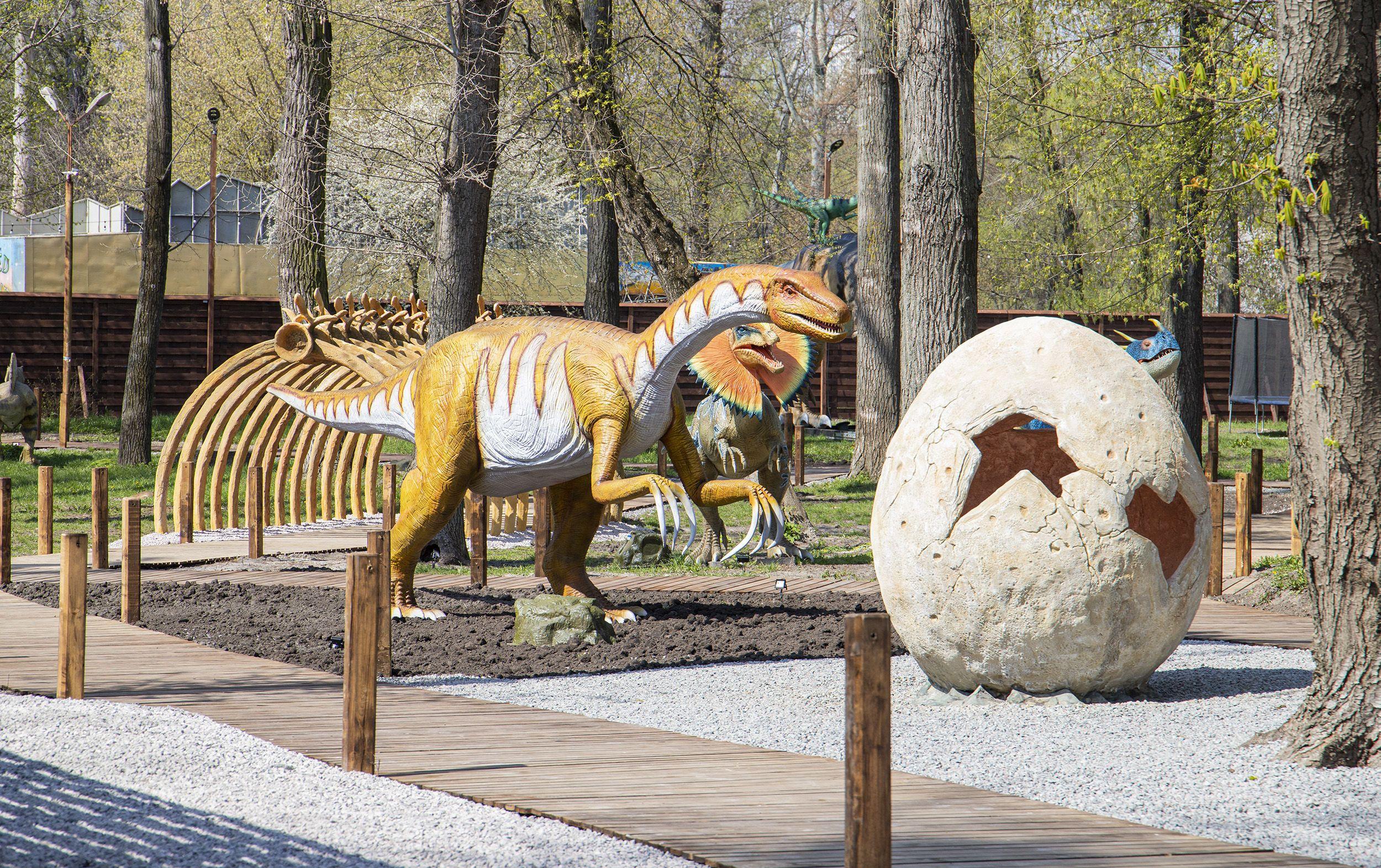 парк динозаврів у Києві_3