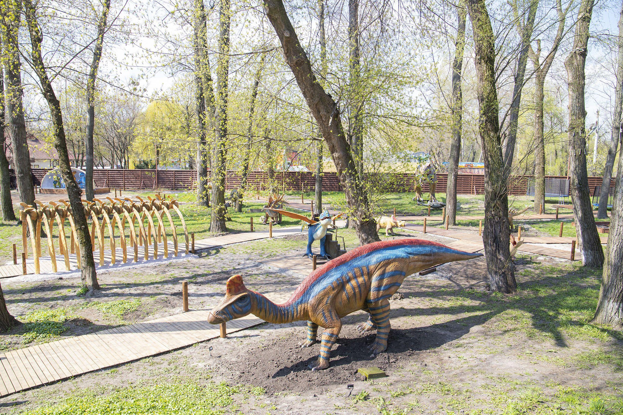 парк динозаврів у Києві_1