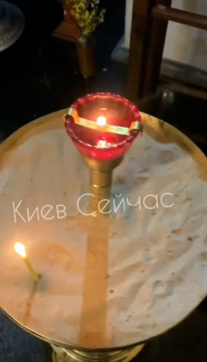 В Киеве две девушки устроили дебош в церкви и сняли это на видео