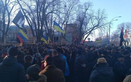 """Протести """"блокадників"""" у центрі Києва. Текстовий онлайн"""