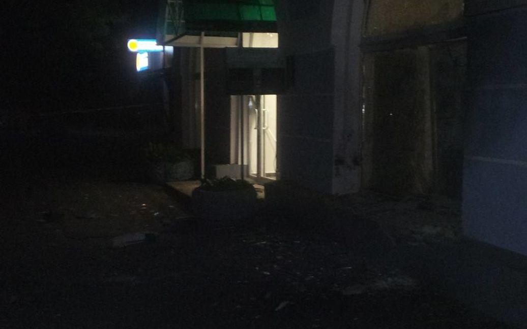 Вночі у Києві пролунав вибух / © Facebook.com/Дмитрий Витов