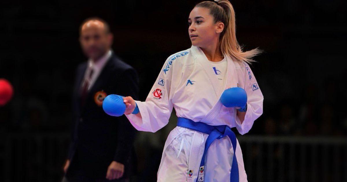 Разгромила соперницу всухую: украинская каратистка-красавица выиграла престижный турнир в Лиссабоне (видео)