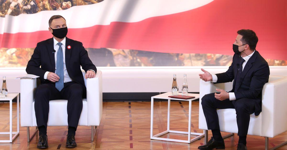 Польша поддержала вступление Украины в ЕС и НАТО