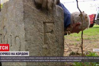 """Новини світу: фермер з Бельгії випадково """"пересунув"""" кордон, щоб проїхати трактором"""