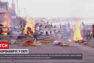 Новости мира: тела погибших от COVID-19 выбросило на берег Ганга