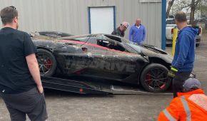 Самый быстрый серийный гиперкар в мире разбили на пути к установлению очередного рекорда, за рулем никого не было