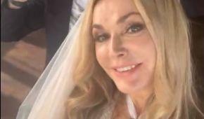 Ольга Сумська знову вийшла заміж: із ким побралася та хто спіймав букет нареченої