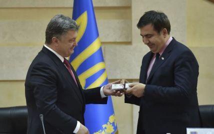 Как Саакашвили стал главой одесской ОГА: хроника неожиданного назначения