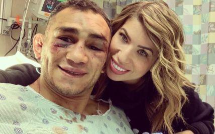 Фергюсон із розбитим обличчям станцював з крапельницею в лікарняній палаті
