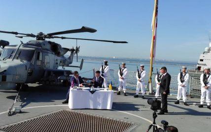 Україна з британцями будуватиме військові кораблі і бази для ВМС