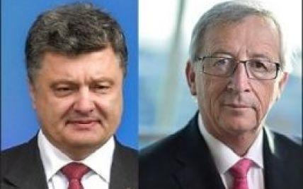 Порошенко обговорив із очільником Єврокомісії подальшу підтримку України