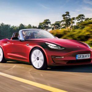 В Сети показали бюджетный Tesla Roadster