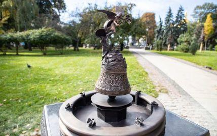 У Києві відкрили 3D-мініатюру фонтану Архистратига Михаїла: фото