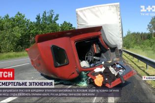 Новости Украины: на Варшавской трассе 27-летний водитель погиб из-за столкновения грузовика и легковушки