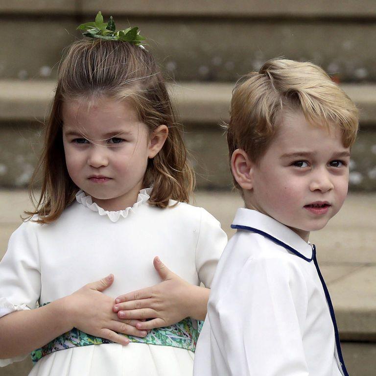 Принцесса Шарлотта любит оливки, а принц Джордж помогает готовить пасту - герцогиня Кейт