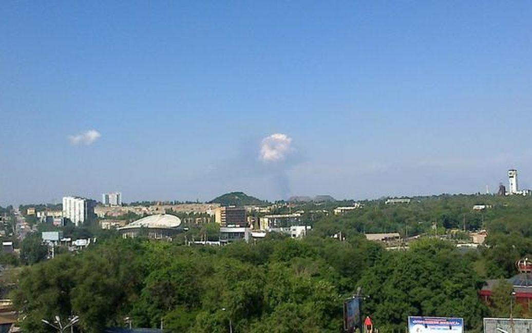 В Донецке с самого утра неспокойно / © twitter/@JuMistress