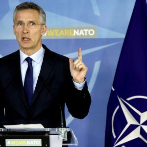 НАТО ніколи не визнає анексію Криму Росією і агресивні дії у Керченській протоці - Столтенберг на зустрічі з Зеленським