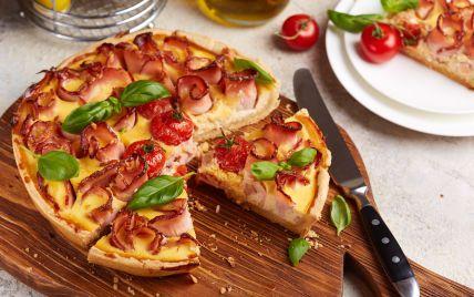 Кіш із помідорами і шинкою: завжди актуальний французький рецепт