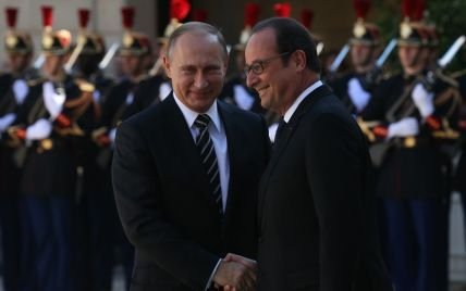 Олланд заявил о создании коалиции с Россией