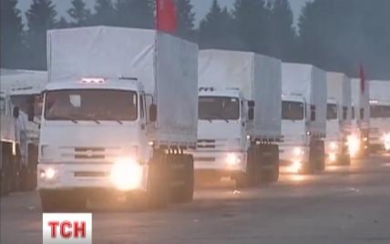 """В Украину вторглись фуры путинского """"гумконвоя"""""""