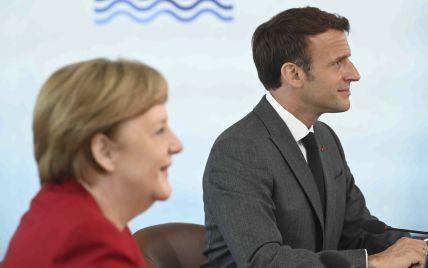 Меркель в Париже встретится с Макроном: среди тем обсуждения — Украина