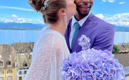 """""""Лучший день в жизни"""": Свитолина запостила свадебный поцелуй с Монфисом и похвасталась обручальным кольцом"""