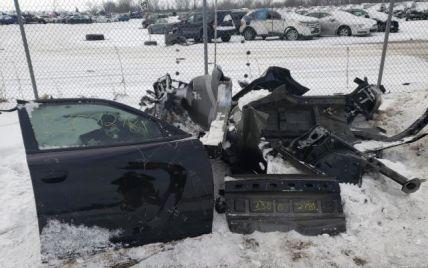 Лише частина деталей: на популярному американському аукціоні продають знищений Dodge Charger