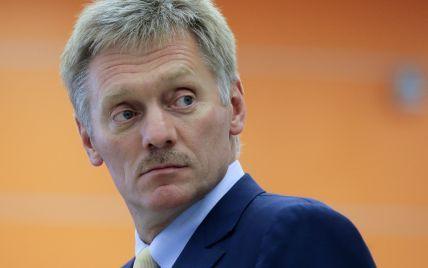 У Кремлі прокоментували рішення ватажків ОРДЛО щодо торговельної блокади Донбасу