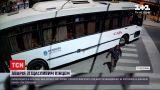 Новости мира: в Сан-Карлосе сняли велосипедиста, которого сбивает автобус