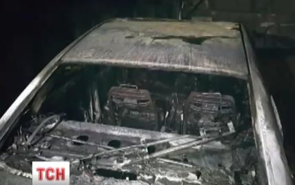 В Киеве произошел пожар в подземном паркинге