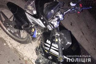 У Львівській області 17-річний байкер збив однолітка і врізався в інший мотоцикл