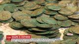 В Чернигове дети на уроке биологии нашли кувшин польских серебряных монет