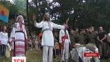 В Запорожье отметили праздник бога летнего солнцеворота Купала