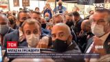 Новости мира: в Лионе попали яйцом в Эмануэля Макрона