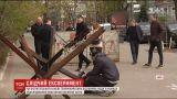 Из-за следственных действий Аллею Небесной Сотни на 3 часа перекрыли полицейские