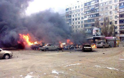"""Бойовики щойно знову обстріляли з """"Градів"""" околиці Маріуполя"""
