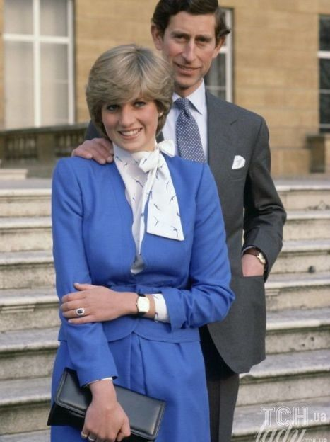 Принц Чарльз и принцесса Диана в день помолвки / © Getty Images