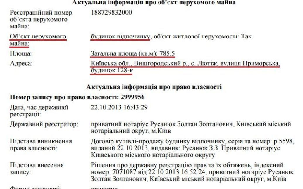 """Владелицей поместья является жена Кличко / © сайт """"Автомайдану"""""""