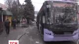 Донецький  тролейбус розстріляли із північно-західного напрямку